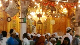 The Ajmer Dargah Sharif Ziarat With Qawwali In Background - Rajasthan India 2015 [HD VIDEO]
