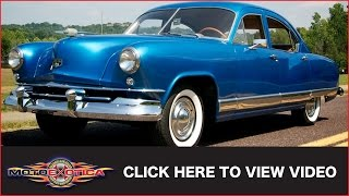 1951 Kaiser-Frazer Deluxe Sedan For Sale