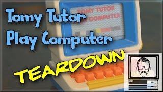 Tomy Tutor Computer Tear Down   Nostalgia Nerd