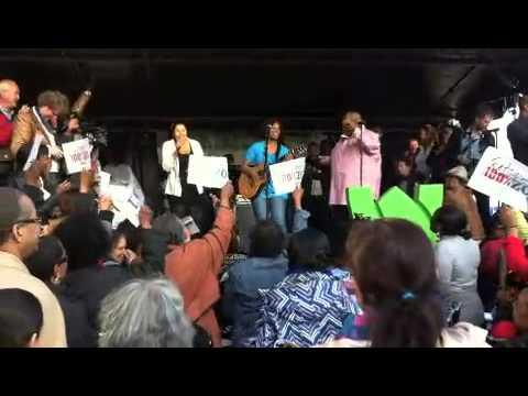 Jeritza Toney & Cheyenne Toney zingen voor Bryan B Bijlhout