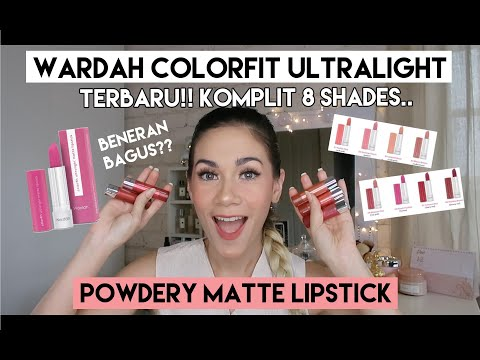 wardah-colorfit-ultralight-powdery-matte-lipstick-review-&-swatch-lengkap-|-she&cat
