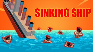 TWINS SURVIVE A SINKING SHIP IN ROBLOX