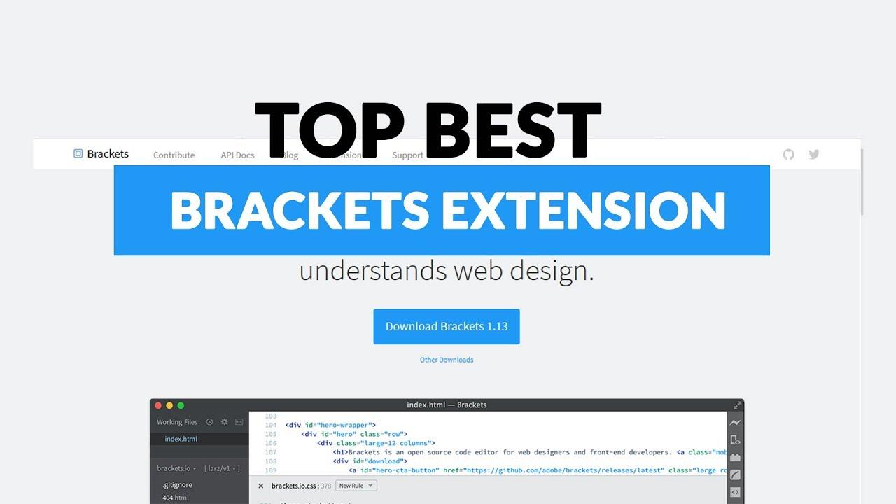 Top best brackets Extension 2018