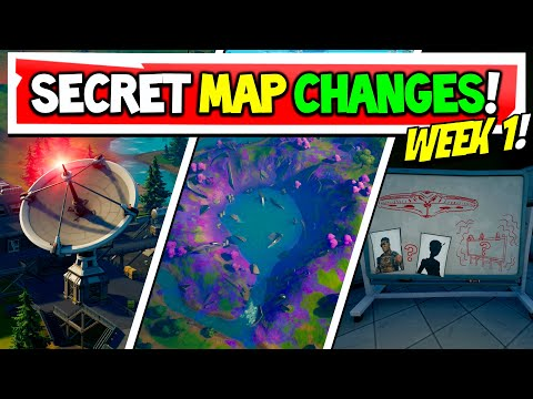 Fortnite Season 7 | SECRET MAP CHANGES | Everything That Changed! Week 1 (Xbox, PS5, PC, Mobile)