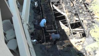 Пожар в гостинице Пемар, Сиде, Турция.mpg