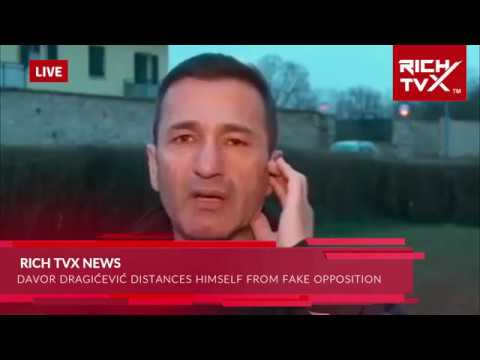 Breaking News: Davor Dragićević Distances Himself From Fake Opposition – Pravda Za Davida