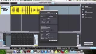 Escolher duração, exportar audio, mixdown e MP3 no Studio One (Tiago dos Santos)