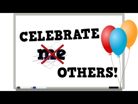 Celebrate Others!  (a song for kids about celebrating others' victories too)