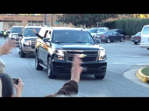 Paul McCartney Arrives Greensboro Coliseum 2014
