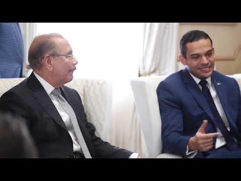 Directivos de la ANJE visitan a presidente Danilo Medina y valoran como completo discurso de rendición de cuentas