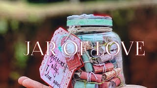 Simple Gift For LOVER Tutorial ❤️ JAR OF LOVE ❤️ 101 Reasons Why I LOVE YOU🧚