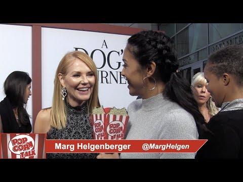Marg Helgenberger At A Dog's Journey Movie Premiere