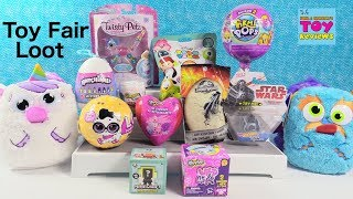 Twisty Petz LOL Surprise Disney Squishy Tsum Tsum Hatchimals Toy Fair Loot Opening | PSToyReviews
