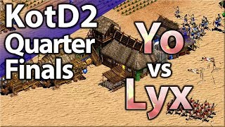 Yo vs Lyx! King Of The Desert 2 | Quarterfinal #1