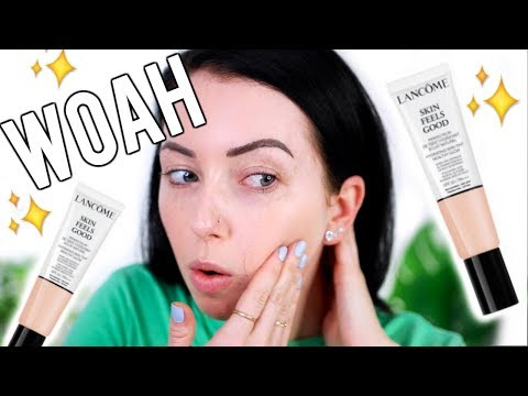 JUST LIKE SKIN?! OMG New Lancome Skin Feels Good Nourishing Foundation {Full Day Wear Test & Review}