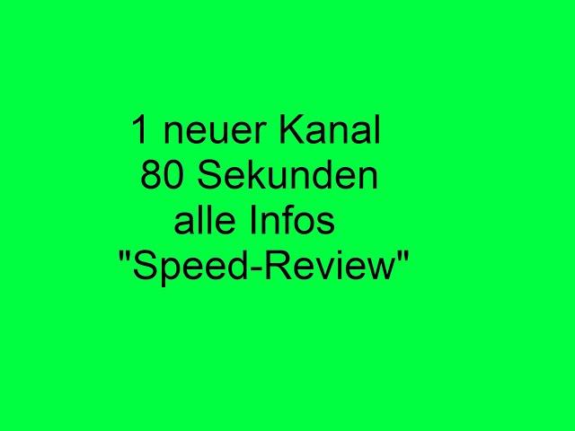Ein Speed-Review -  Daten, Fakten und persönliche Meinung - Klemmbausteinkanäle auf Youtube Teil 22
