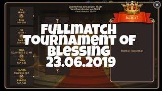 Dragon Nest M -  FULL MATCH ,Tournament Of Blessing ( TOB ) 23.06.2019