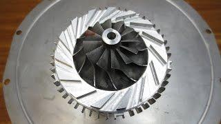 Постройка ТРД -  Самая сложная деталь турбо реактивного двигателя