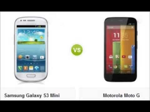 Comparativa: Samsung Galaxy S3 Mini VS Motorola Moto G ...  Comparativa: Sa...