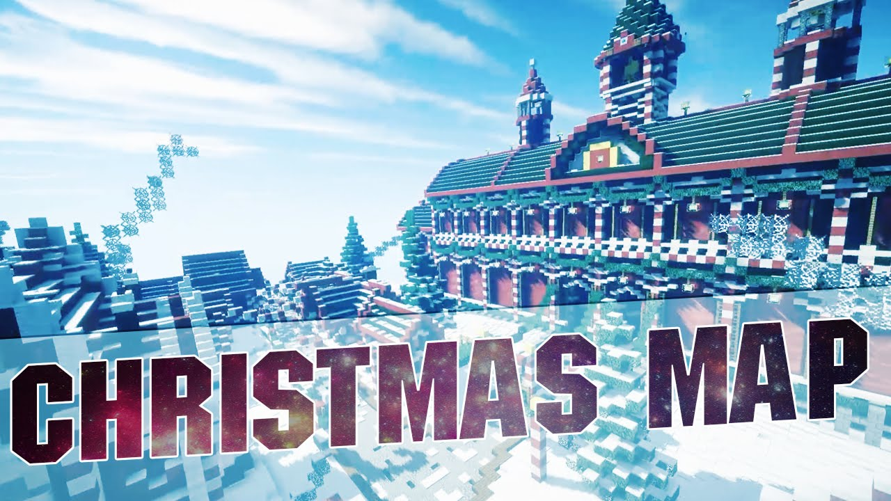 Minecraft - Christmas City Cinematics - YouTube