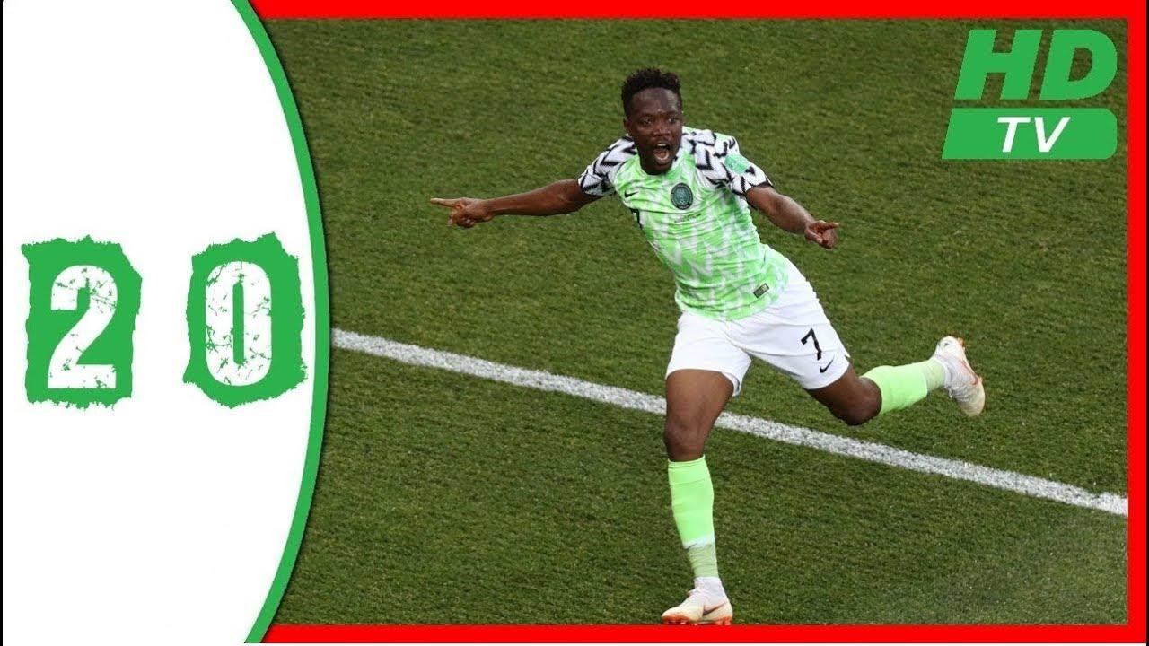 Download Nigeria Vs Iceland  2 - 0 FIFA World Cup 22 06 2018
