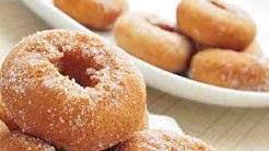 Воздушные пончики на кефире.