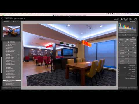 Realistic HDR Interior using Lightroom