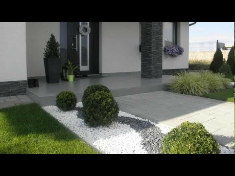 100 Small front yard landscaping ideas - Home garden design 2021