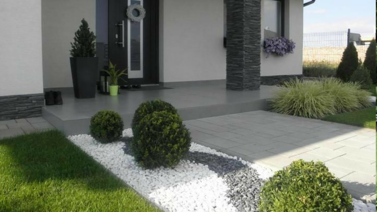 11 Small front yard landscaping ideas - Home garden design 11