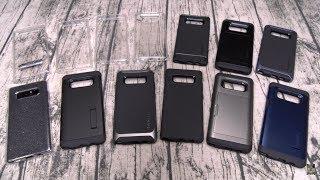 Samsung Galaxy Note 8 Spigen Case Lineup