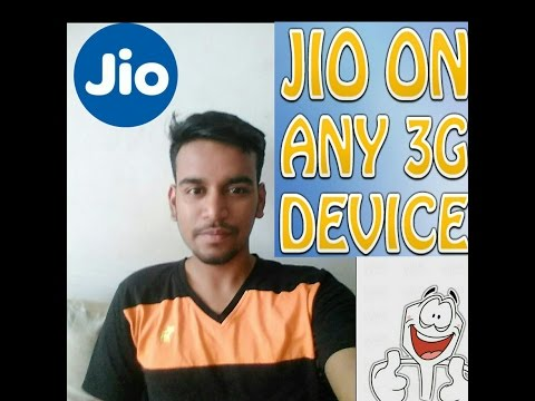 How To Use Jio Sim In 3g phone!