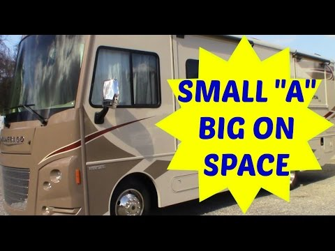 Class A motorhome under 30ft Tour for full time living. Winnebago Vista LX 27N
