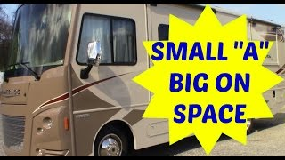 Class A motorhome under 30ft Tour for RV full time living. Winnebago Vista LX 27N