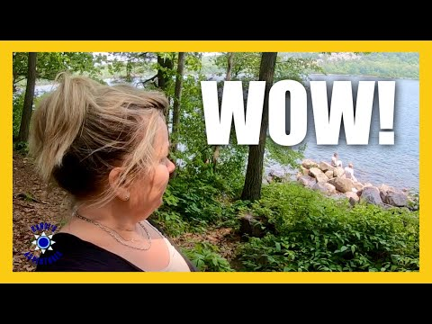 Devils Lake State Park ♥ Wisconsin Camping & UNEXPECTED Hiking THRILL!