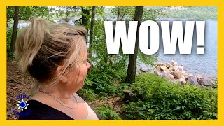 Devils Lake State Pąrk ♥ Wisconsin Camping & UNEXPECTED Hiking THRILL!