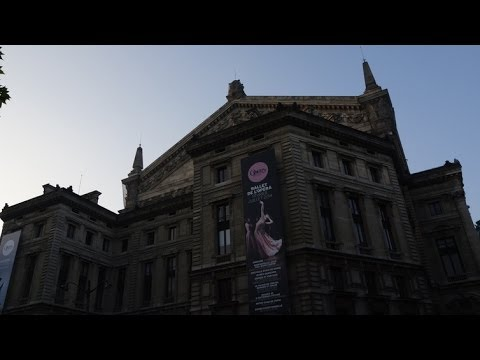 (4K)Travel to Paris 2014 - Palais Opera Garnier オペラ座