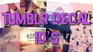 Roblox Bloxburg - Tumblr Picture Codes