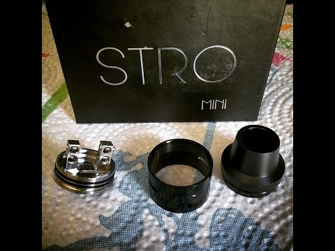 The Stro Mini rda by Sacred Mods   You gotta see this one