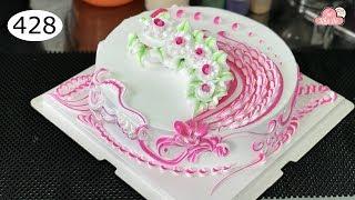 chocolate cake decorating bettercreme vanilla (428) Học Làm Bánh Kem Đơn Giản Đẹp - Bánh Cưới (428)