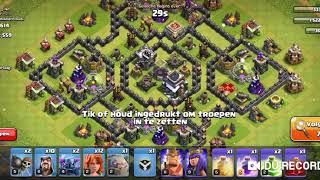 mn 1ste vid van clash of clans!