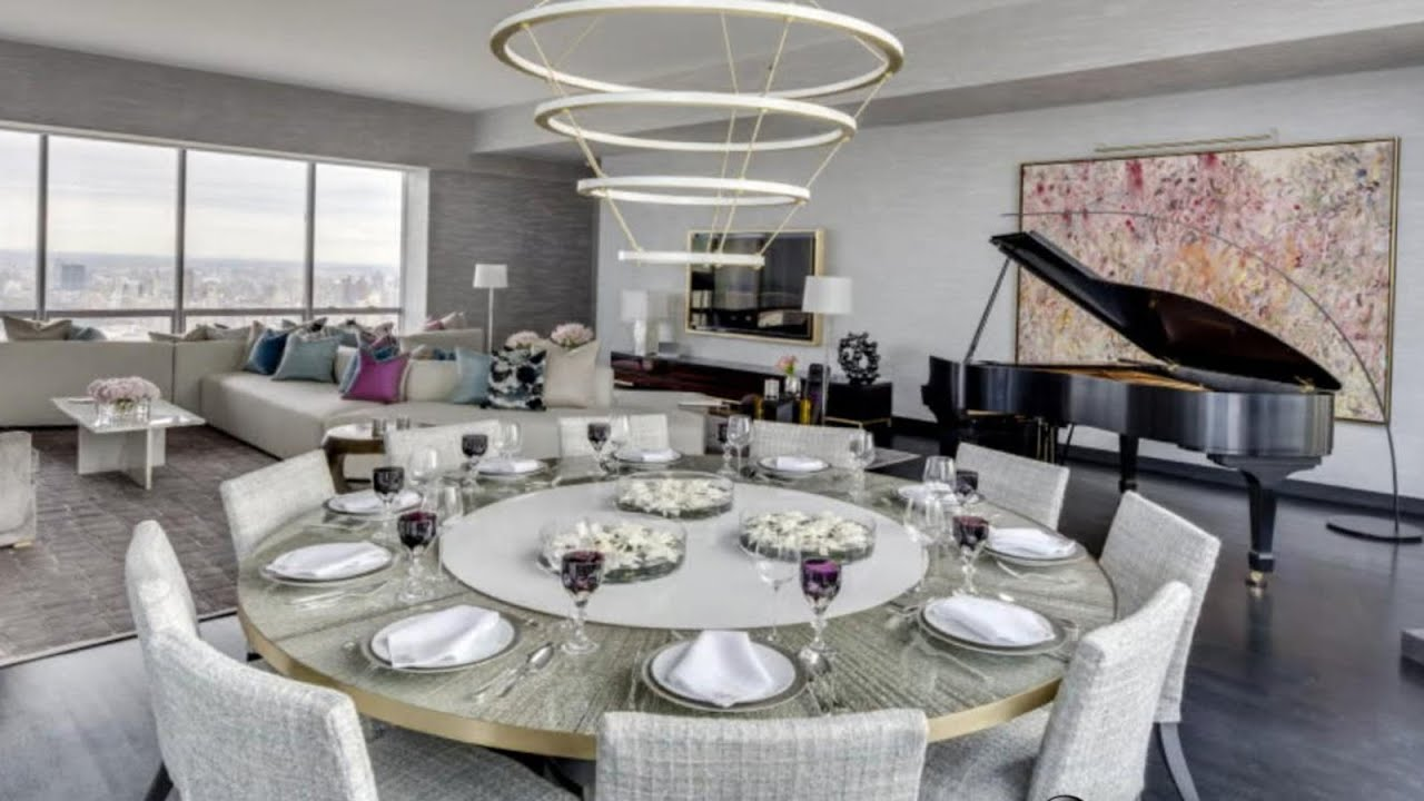 What a multi million dollar high rise penthouse looks like for Million dollar apartments nyc