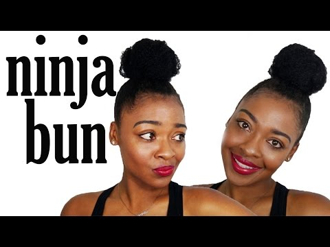 Top Knot, Ninja Bun | Natural Hairstyles for Black Women