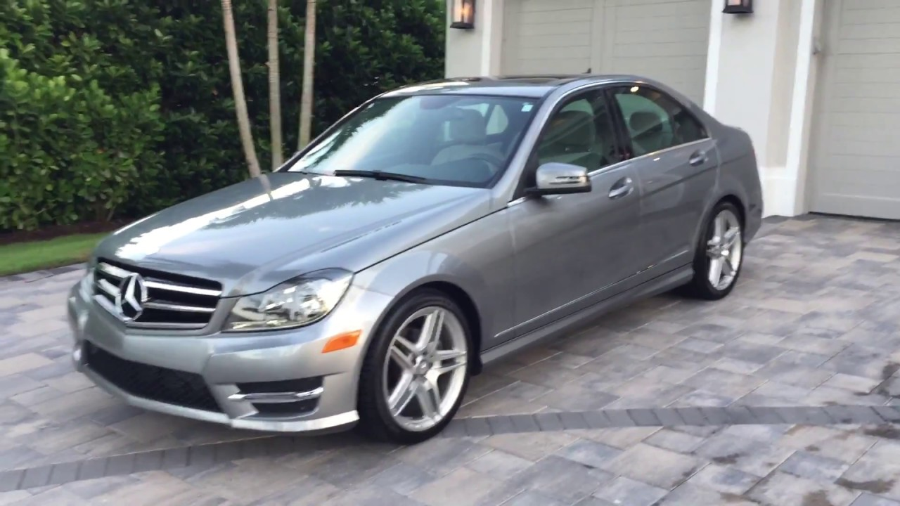 2014 Mercedes Benz C250 Sedan Amg Sport For Sale By Auto Europa