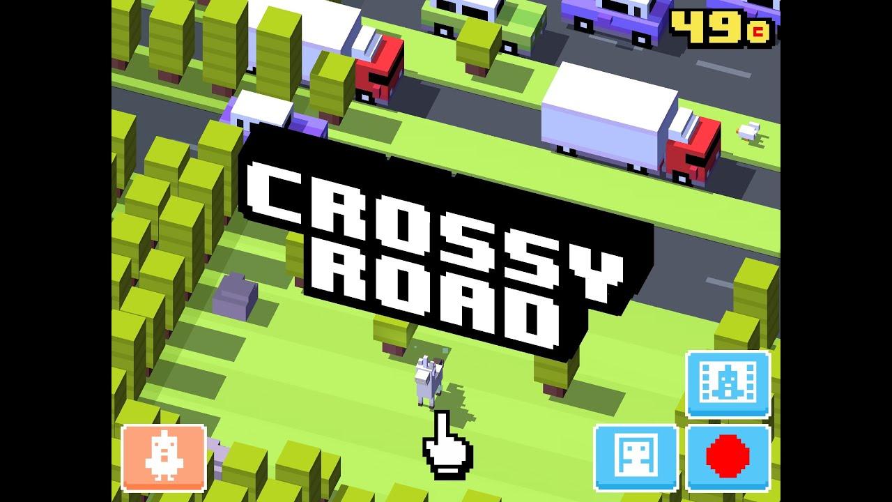 Crossy Road High Score 580 Youtube