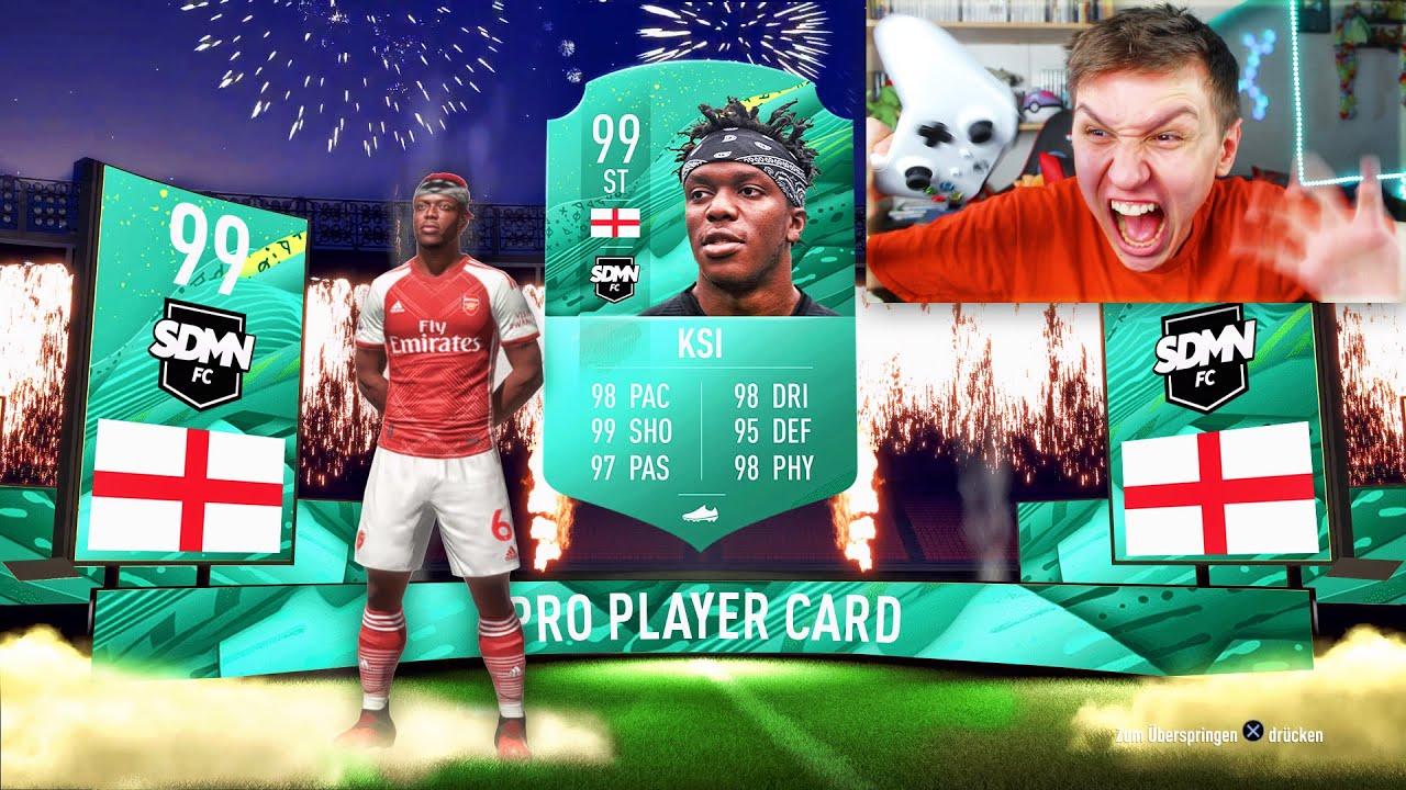 Download 198 RATED YOUTUBER FUT DRAFT!! (ft KSI) - FIFA 20