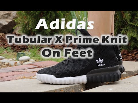 new style 43ffb 759f5 Adidas Tubular X PrimeKnit Snake On feet