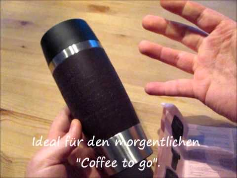 emsa travel mug youtube. Black Bedroom Furniture Sets. Home Design Ideas