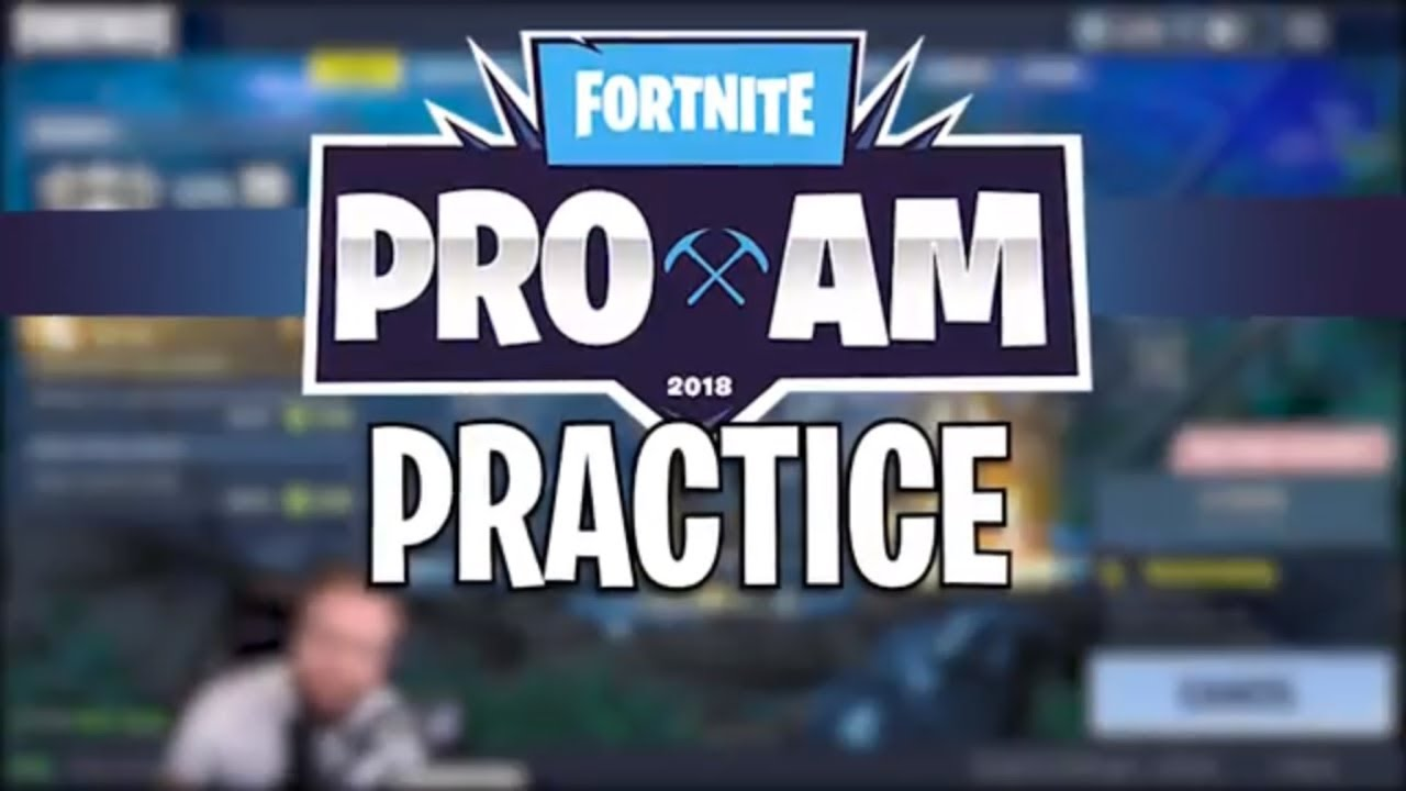 PRO AM PRACTICE - Fortnite Battle Royale Highlights (Jordan Fisher & StoneMountain64)