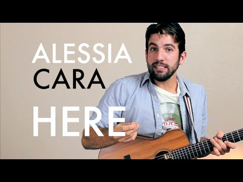 Alessia Cara - Here (Guitar Lesson/Tutorial)