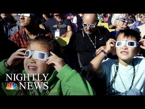Millions Watch Eclipse Cross America | NBC Nightly News
